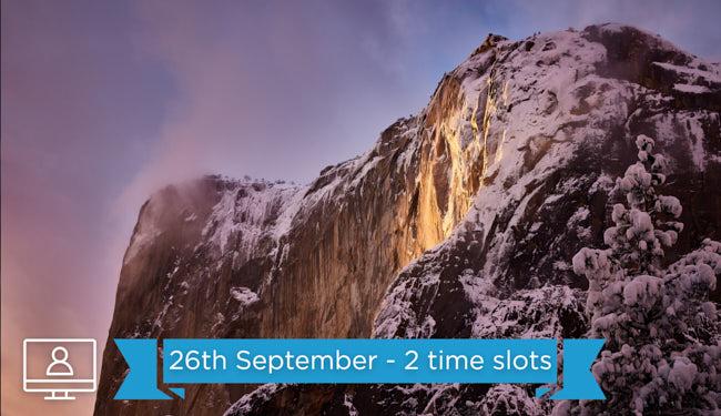 capture one raw photo editing landscape El Capitan