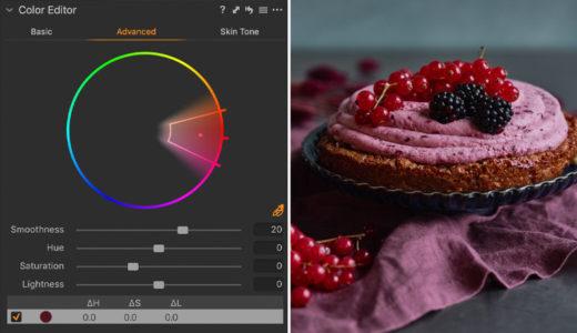 capture one raw photo editor explaining color editor